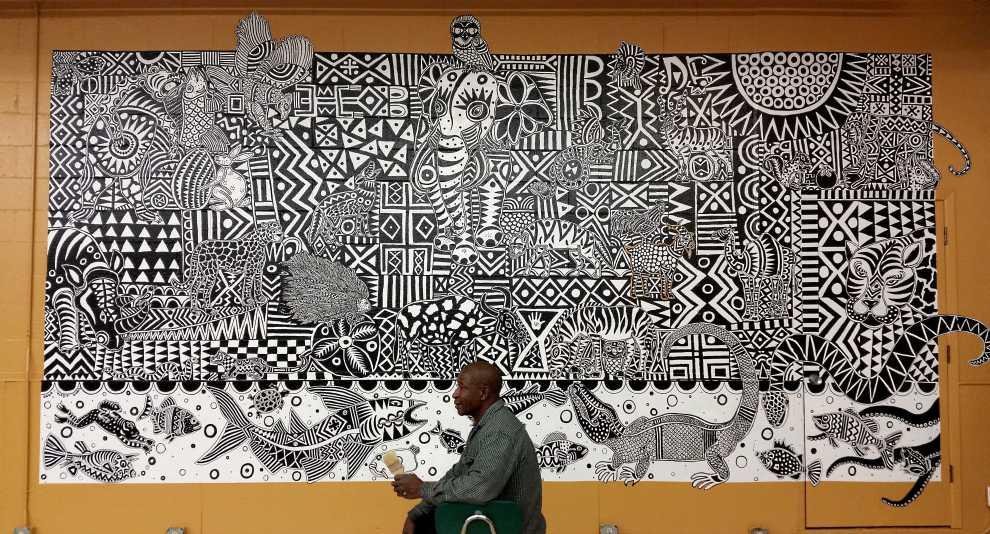 Open School Mural 2016