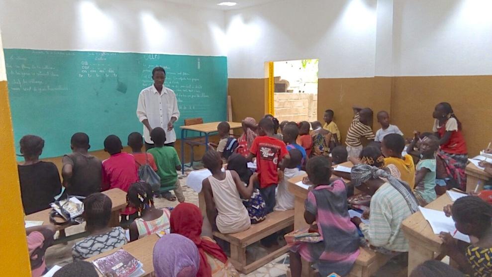 Modibo in class